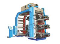 YTG Series Six-Color Middle-High Speed Flexographic Film Printing Machine