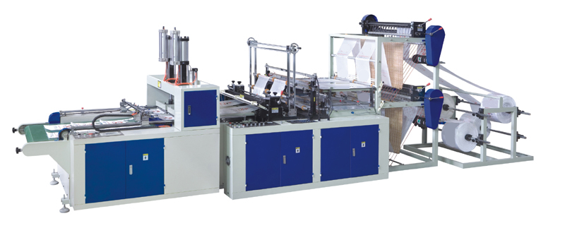 Automatic Two Layer Four Lines Bag Making Machine