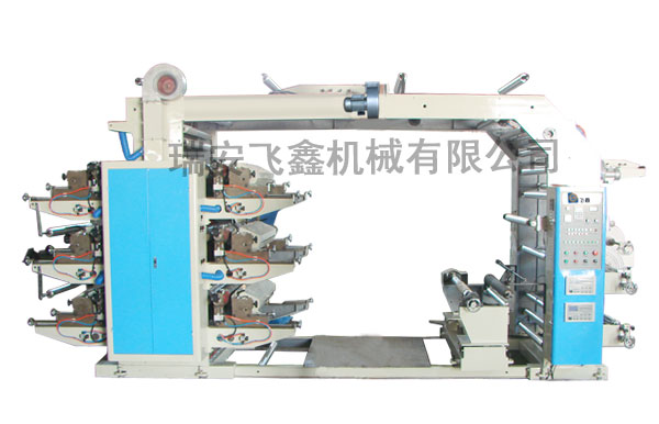 YT Series Six-Color Flexo Printing Machine